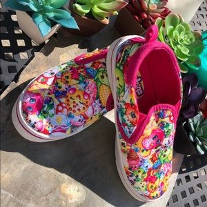 Other - Girls Shopkins slip on sneakers size 1